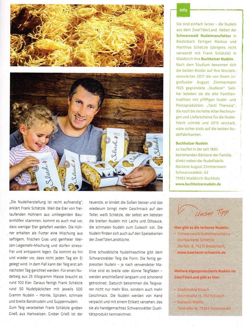 Artikel Schwarzwald Nudelmanufaktur in der Auszeit- Seite 2