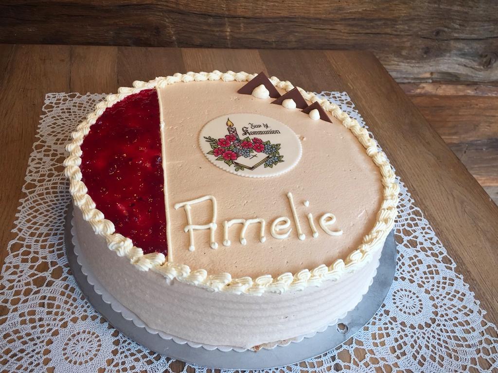 Torte zur Kommunion - Amelie